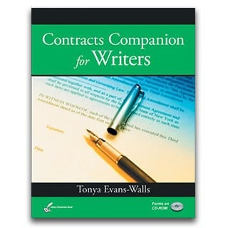 Tonya Evans Book Contracts Companion for Writers