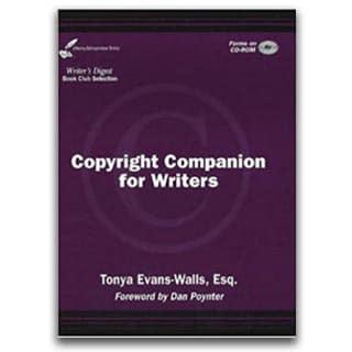 Tonya Evans Book Copyright Companion for Writers