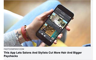 Link Fast Company Article Tye Caldwell Courtney Caldwell This App Lets Salons and Stylists Cut More Hair and Bigger Paychecks