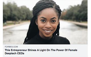 Ugwem Eneyo Article Forbes This Entreprenuer Shines a Light On The Power of Female Deeptech CEOs