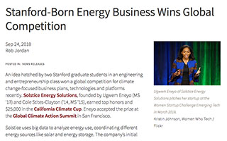 Link Stanford Woods Article Ugwem Eneyo Stanford Born Energy Business Wins Global Competition