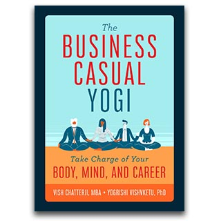 Link Amazon Book Vish Chatterji Book The Business Casual Yogi