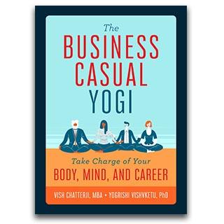 Link Amazon Book Vish Chatterji Book The Business Casual Yogi